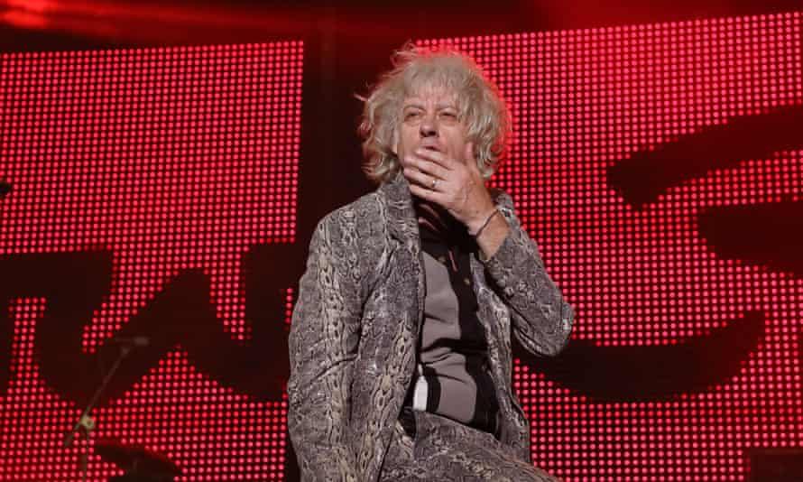 Bob Geldof: who, exactly is the fashion victim?