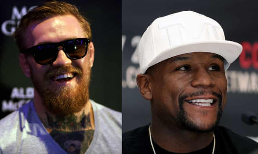 Conor McGregor (left) and Floyd Mayweather stand to make huge sums from their August fight