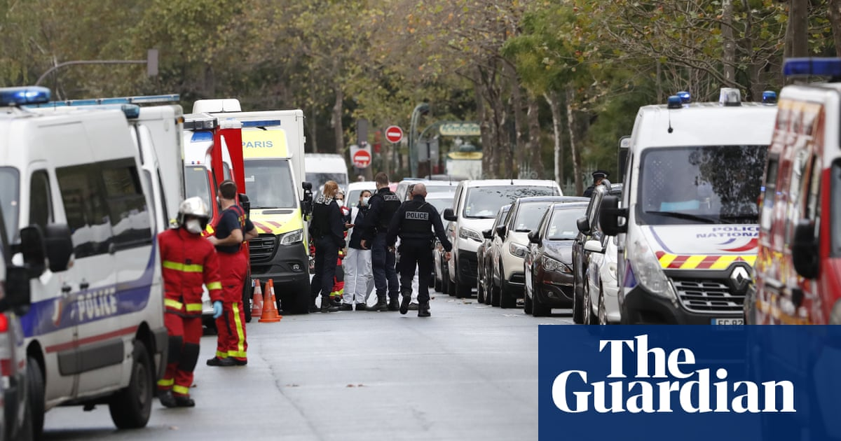 Two injured in knife attack near Charlie Hebdos former offices in Paris