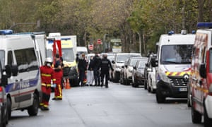 Two Injured In Knife Attack Outside Charlie Hebdo S Former Offices In Paris World News The Guardian