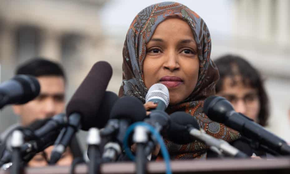 Representative Ilhan Omar, Democrat of Minnesota, ignited a controversy by claiming pro-Israel lobby money influenced American political policy. The claim led to accusations of antisemitism.