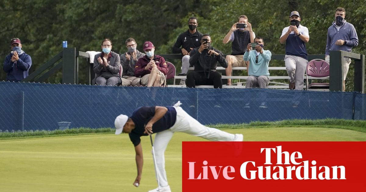 US Open golf 2020: first round – live!