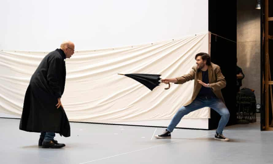 Rehearsals for Kat'a Kabanova, which opens this year's season.