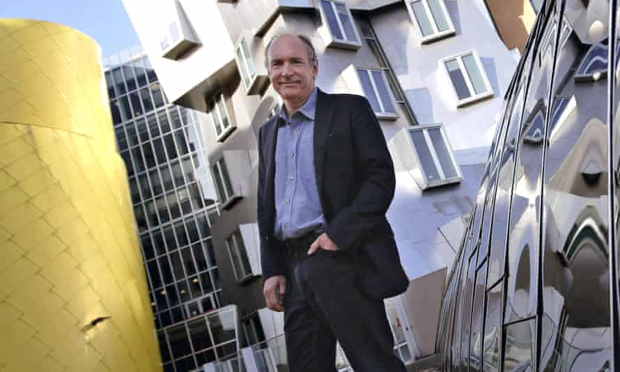 Tim Berners-Lee: 'We have to grit our teeth and hang on to the fence.'