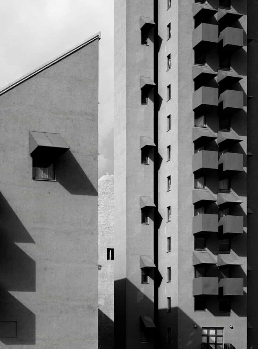 John Hejduk's Kreuzberg Tower and Wings, Berlin, Germany, 1988.