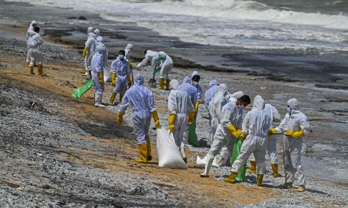 Sri Lanka, disaster, spills chemicals, Negombo, kalutara,  MV X-Press Pearl,Singapore, Harbouchanews