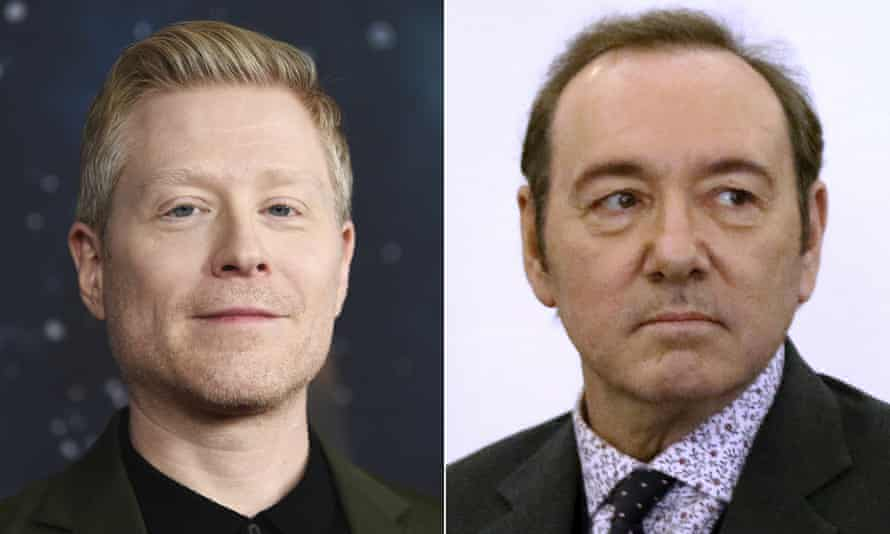 Anthony Rapp, left, and Kevin Spacey
