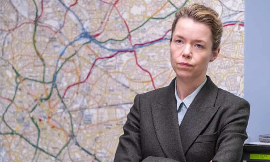 Anna Maxwell Martin in the BBC's Line of Duty.