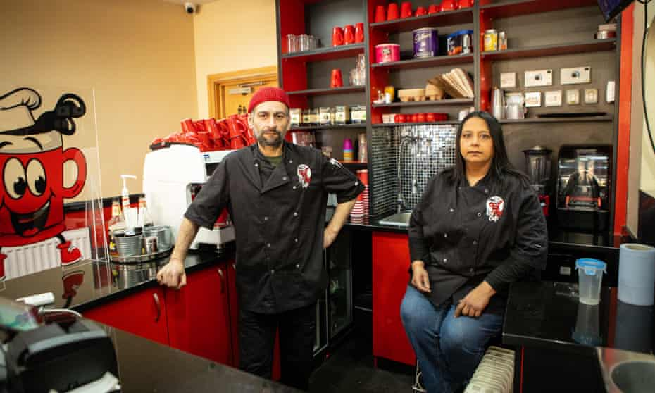 Henal and Reena Chotai, who are trying to set up their own eco-friendly delivery service in London.