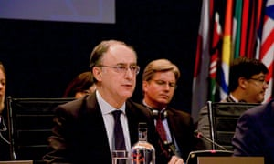 Fernando Arias, the director general of the Organisation for the Prohibition of Chemical Weapons, at its annual conference in The Hague