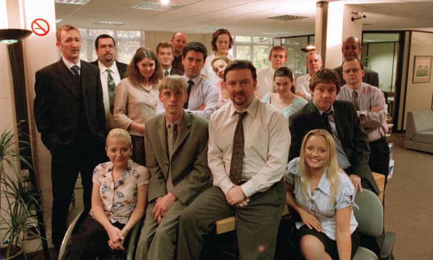 The whole Hogg ... the Office gang.