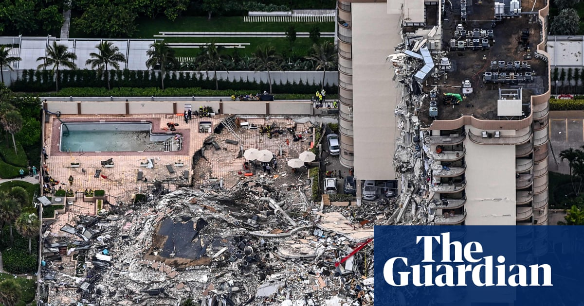Briton among missing in Miami building collapse