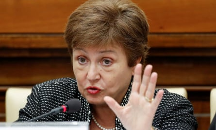 The IMF's managing director, Kristalina Georgieva, said the April projection of a 3% contraction of the world economy, could worsen.