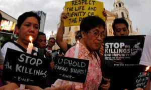 Sme 7,000 people have died at the hands of vigilantes and state sanctioned death squads in the Philippines since Duterte came to power.