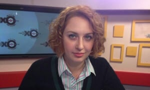 Tatyana Felgenhauer is the deputy editor of Ekho Moskvy radio station, and also co-hosts a discussion show.