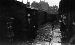 Housing in the north of England in the 1930s.