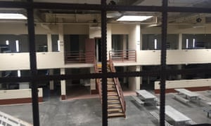 The empty prison in Coalinga, California, has remained frozen in time since its closure in 2011.