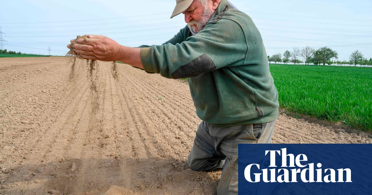 Extreme droughts in central Europe likely to increase sevenfold