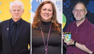 Richard Curtis, left, Abigail Disney and Jerry Greenfield are among the letter's signatories.
