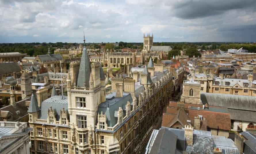 the Cambridge skyline