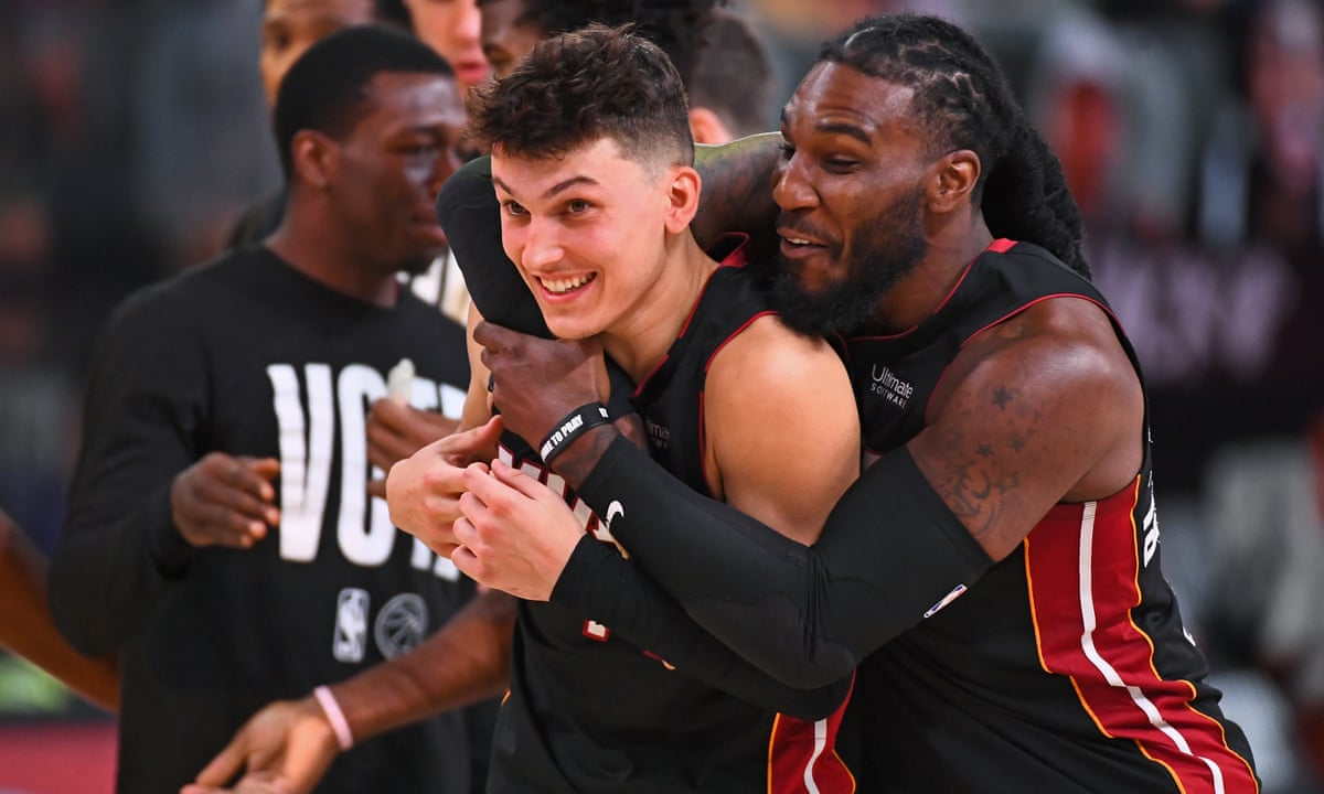 A Herro Will Rise Heat One Win From Nba Finals As Rookie Burns Celtics In Game 4 Sport The Guardian