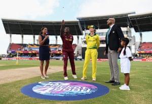 Stafanie Taylor wins the toss. Australia will bat first.