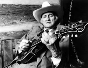 The ultimate gatekeeper … Bill Monroe's trademark mutter was: 'That ain't no part of nothing.'