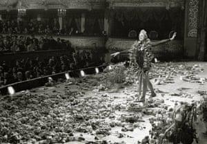 Maya Plisetskaya at the Bolshoi in 1980.