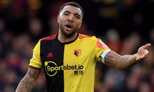 Watford's Troy Deeney was on the conference call with Premier League officials on Wednesday.