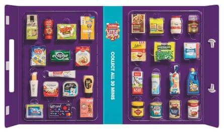 Coles Little Shop collector pack