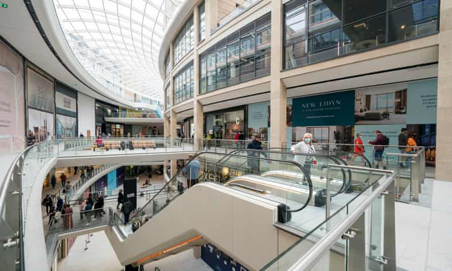 Killing the high street? The new mall has seen long queues of shoppers.