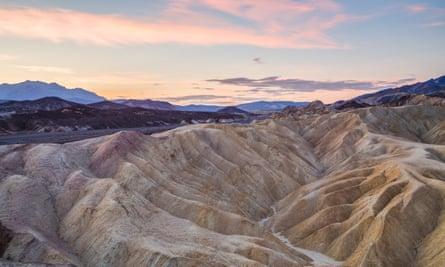 Zabriskie Point in Death Valley national park. The park needs $129m to fund maintenance.