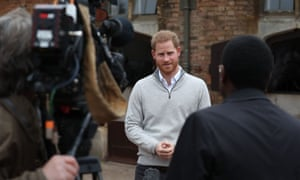 The Duke and Duchess of Sussex media access