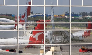 Qantas planes at Sydney airport