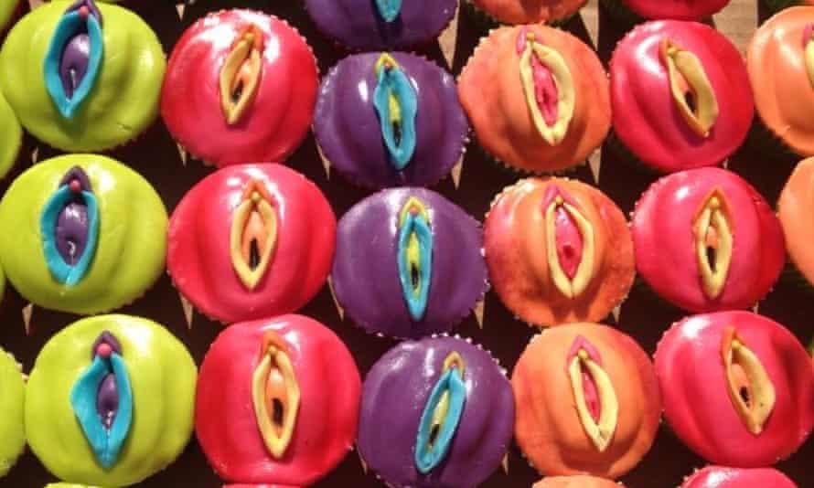 Leyla Hussein's vulva cupcakes