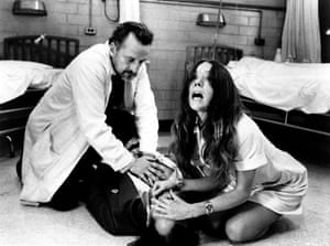 George C Scott and Diana Rigg in The Hospital, 1971