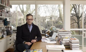 Tyler Brule in his office at Monocle in Marylebone, central London