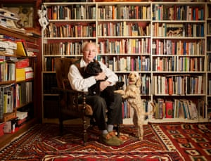 Author Philip Pullman at his home near Oxford