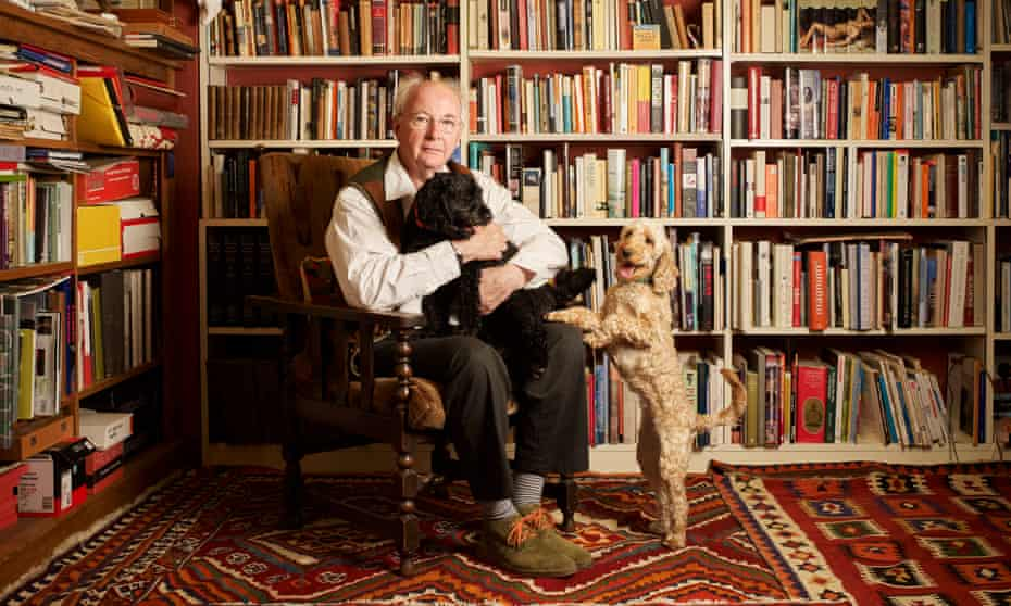 Philip Pullman at his home near Oxford.