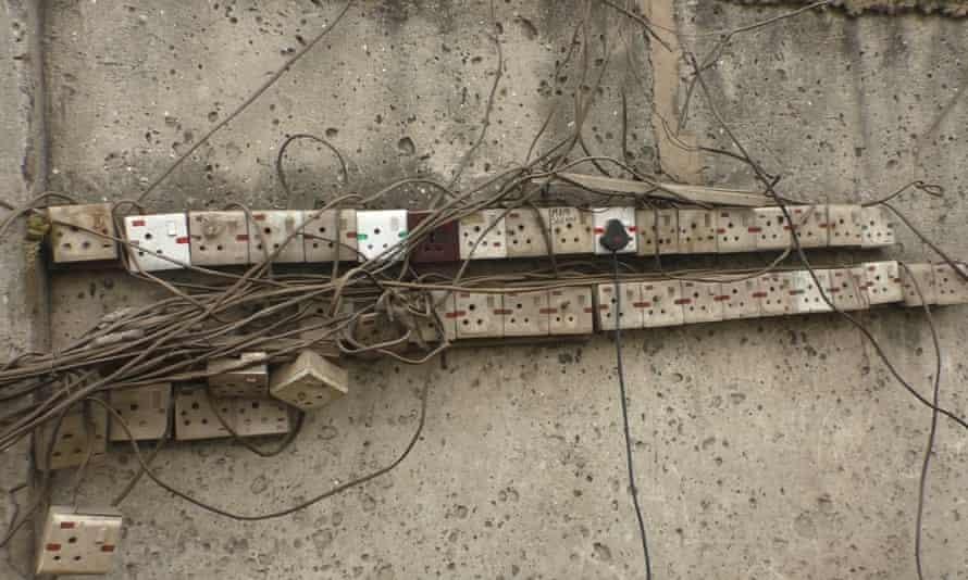 Power sockets in Lagos.