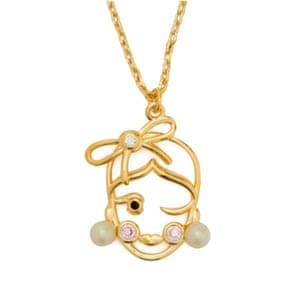 Virgo celestial charm pendant, £55, katespade.co.uk