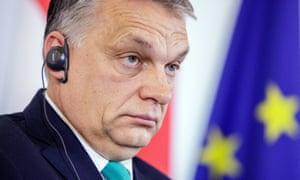 Hungary's prime minister, Viktor Orbán