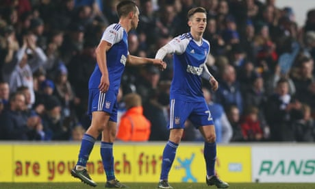 Tom Lawrence's strikes spare Ipswich and deny superior Lincoln a shock