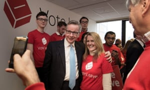 Justice secretary Michael Gove has given his support to Vote Leave.