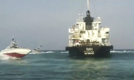 Panama deregisters oil tanker that strayed into Iranian waters