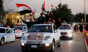 Baghdad reopens fortified Green Zone a year after Isis ousted from Iraq 3500