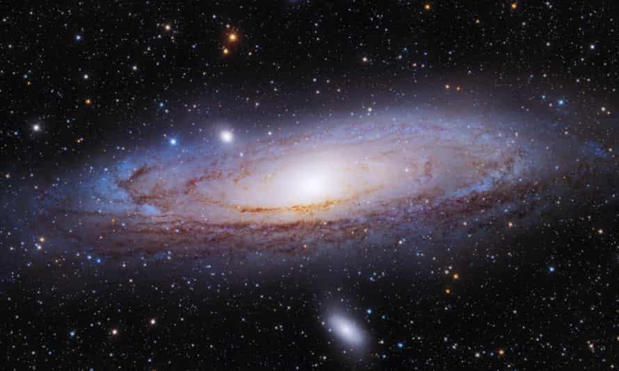 Andromeda aka M31, the nearest major galaxy to the Milky Way.