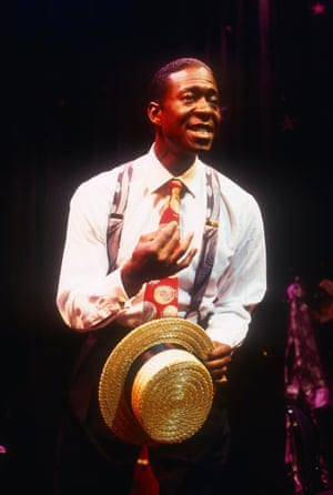 Clarke Peters in Let There Be Love: A Tribute to Nat King Cole, Theatre Royal Stratford East, London, 1994