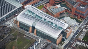 Better from the sky? Francis Crick Institute.