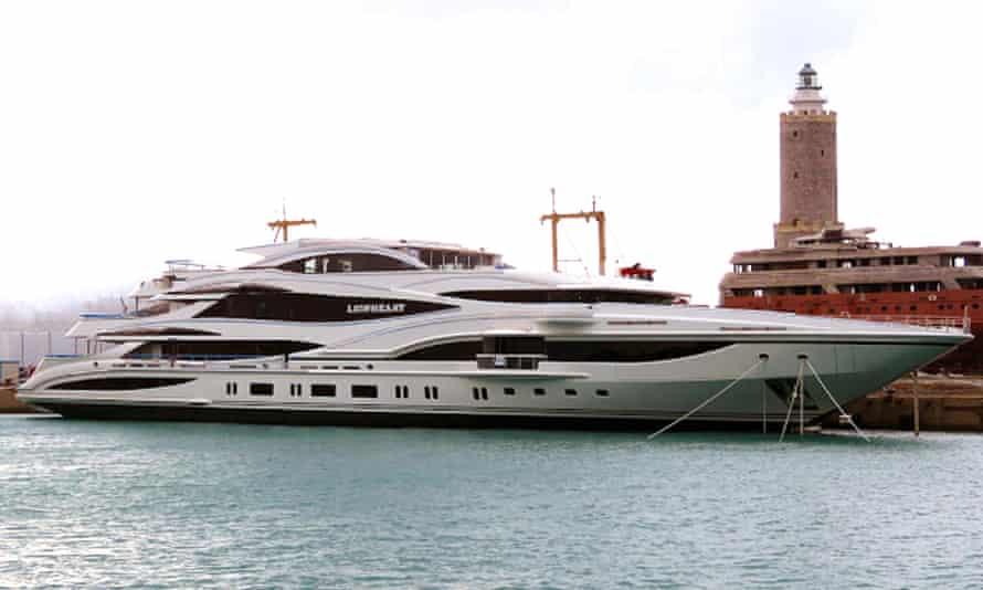 Green's latest £100m yacht Lionheart.